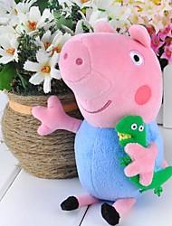 """Недорогие -Новый горячий Джордж Pig плюшевые куклы мягкая игрушка Peppa Pig 19cm/7.4 """"Подарок Кукла"""