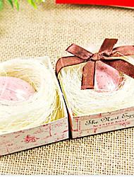 Недорогие -Свадебный подарок мини Прозрачный Птица Яйцо Мыло 29g