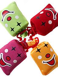 Недорогие -Нажмите и смех улыбающееся лицо мешок стресс-ослабитель Розыгрыш (случайный цвет, 8x7x3cm, 1шт)