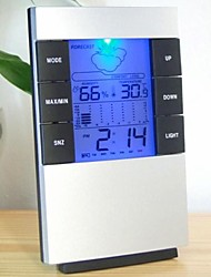cheap -Alarm clock Digital Plastic Automatic 1 pcs