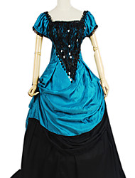 cheap -Dress Gothic Lolita Dress Lolita Accessories Dress Polyester Cotton Halloween Costumes