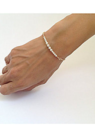 cheap -Women's Bead Bracelet Beaded Unique Design Fashion Pearl Bracelet Jewelry Gold For Party Daily