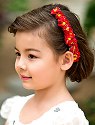 cheap -Women's Flower Girl's Paper Headpiece-Wedding Special Occasion Headbands Flowers
