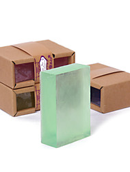 Недорогие -Природных ручной Эфирное масло Soap100g (случайный цвет)