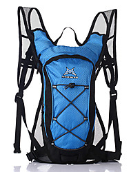 cheap -Mysenlan 15 L Daypack Bike Hydration Pack & Water Bladder Breathable Quick Dry Wear Resistance Outdoor Camping / Hiking Cycling / Bike 420D Nylon Fuchsia Green Blue