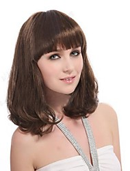 cheap -Top Grade Quality Wavy  Brown Hair Wig 3 Colors to Choose