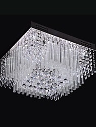 cheap -SL® 40 cm Crystal / LED Flush Mount Lights Metal Chrome Modern Contemporary 110-120V / 220-240V / LED Integrated