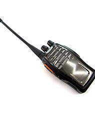 Недорогие -BAOFENG BF-A5 5W 400 ~ 470MHz рация ж / фонарик / FM-радио - черный