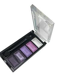 abordables -5 couleurs de maquillage Palette Ombre à Paupières (J034-01)