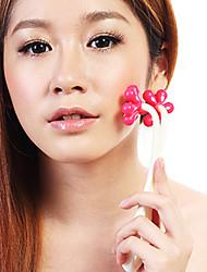 Недорогие -Цветочные формы красоты ролика на лице Массаж