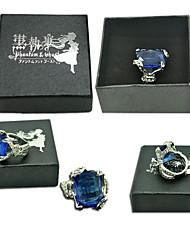 cheap -Cosplay Accessories Inspired by Black Butler Ciel Phantomhive Anime Cosplay Accessories More Accessories Artificial Gemstones Men's New Hot Halloween Costumes