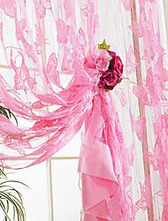 "cheap -Elegant Classic Butterflies Pattern Curtain Line (39""W * 78""L)"