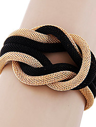 cheap -Women's Bracelet Bangles - Ladies Bracelet Jewelry Black / Gray / Golden For Daily