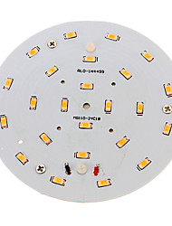 cheap -1pc 10 W 800-900 lm 24 LED Beads SMD 5730 Warm White 220-240 V / RoHS
