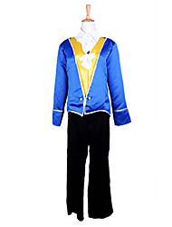 cheap -Fairytale Cosplay Costume Party Costume Men's Halloween Carnival Festival / Holiday Polyester Men's Easy Carnival Costumes Patchwork / Coat / Vest / Pants / Tie / Coat