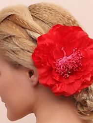 cheap -Gorgeous Cotton/Lace Bridal Flower Headpiece