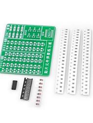 abordables -Diy SMD soudage pratique formation pratique PCB Board Board pour (pour arduino)