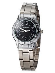 Недорогие -Женская Круглый циферблат сплава группы Кварцевые аналоговые наручные часы (разных цветов)