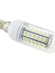 cheap -3 W LED Corn Lights 5500-6500 lm E14 T 48 LED Beads SMD 5730 Cold White 220-240 V / # / CE / RoHS