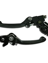 cheap -pit dirt bike 22mm folding brake clutch lever 110cc 125cc 140cc 160cc ssr sdg ktm