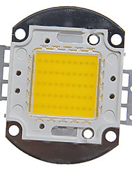 cheap -ZDM 1pc Integrated LED 4000-5000 lm 30 V Bulb Accessory LED Chip Aluminum for DIY LED Flood Light Spotlight 50 W Warm White