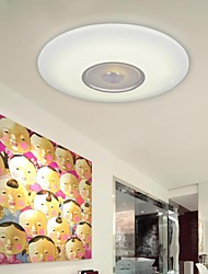 cheap -5-Light 55 CM (22 Inch) LED Flush Mount Lights Metal Acrylic Painted Finishes Modern Contemporary 220-240V