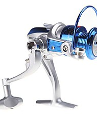 cheap -Fishing Reel Spinning Reel 5.1:1 Gear Ratio+8 Ball Bearings Right-handed / Left-handed / Hand Orientation Exchangable Sea Fishing / Spinning / Freshwater Fishing