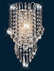 cheap -Crystal Flush Mount Wall Lights Wall Light 110-120V 220-240V 40 W / E12 / E14 / CE Certified