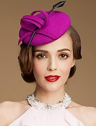 cheap -Wool / Crystal / Fabric Tiaras / Hats with 1 Wedding / Special Occasion / Party / Evening Headpiece