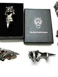 cheap -Jewelry Inspired by Final Fantasy Cosplay Anime / Video Games Cosplay Accessories Ring Alloy Men's 855