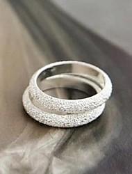cheap -Band Ring Silver Alloy Ladies Fashion 1pc M / Women's