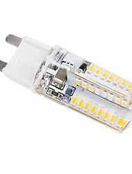 cheap -3 W LED Corn Lights 195 lm G9 T 64 LED Beads SMD 3014 Cold White 220-240 V