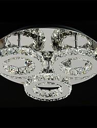 cheap -SL® Flush Mount Lights Ambient Light Chrome Metal LED 110-120V / 220-240V