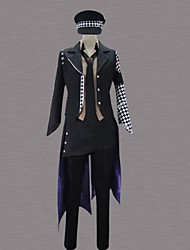 cheap -Inspired by Cosplay Cosplay Anime Cosplay Costumes Japanese Cosplay Suits Patchwork Long Sleeve Shirt / Pants / Tuxedo For Men's / Hat