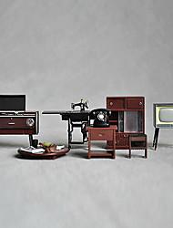 Недорогие -Миниатюра Японии Vintage швейная машина Мебель телефон украшения
