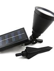 Недорогие -наружная солнечная энергия прожектор садовый свет наружное освещение ландшафтный прожектор сад газон прожектор с 4 светодиодами
