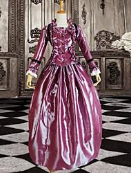 cheap -Dress Classic Lolita Dress Women's Purple Lolita Accessories Dress Satin Halloween Costumes / Long Length