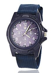 cheap -Men's Military Watch Wrist Watch Aviation Watch Quartz Black / Blue / Green Casual Watch Analog Charm Classic - Black Green Navy One Year Battery Life / Jinli 377