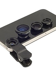 cheap -Clip Universal Fisheye Wide Angle Macro Lens for Universal Mobile Phone for iPhone 8 7 Samsung Galaxy S8 S7