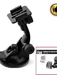 cheap -HGYBEST Outdoor Car Camera Fixing Holder w/ Suction Cup for Gopro / SupTig - Black