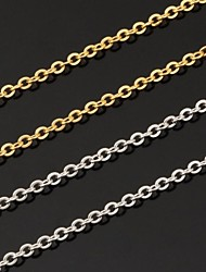 cheap -Women's Chain Necklace Ladies Fashion Platinum Plated Gold Plated White Gold White Golden Necklace Jewelry For Wedding Party Daily Casual