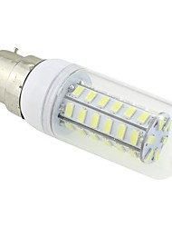 cheap -3 W LED Corn Lights 5500-6500 lm B22 T 48 LED Beads SMD 5730 Cold White 220-240 V / # / CE / RoHS