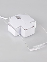 Недорогие -LITBest NHWR06 Проводной USB Оптический Управление мышью LED подсветка 1200 dpi 3 pcs Ключи