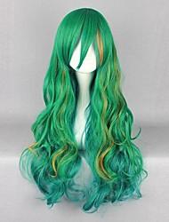 cheap -Cosplay Shogo Makishima Cosplay Wigs Men's 32 inch Heat Resistant Fiber Green Anime