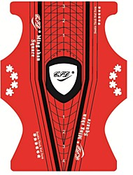 Недорогие -100 шт пластик Инструмент для ногтей Назначение Маникюр Педикюр Прочный маникюр Маникюр педикюр Простой / Классика Повседневные