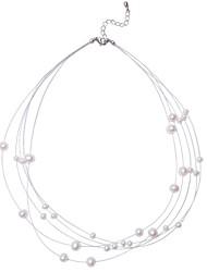 Недорогие -мода стальные шарики смолы цепи кластера коренастый ожерелье для женщин