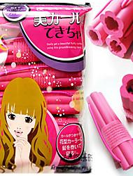 Недорогие -6 штук Rinka Стрижка Самостоятельная адгезии и цветок мягкой губкой сна Big Bang завитые волосы