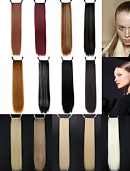 cheap -Ponytails Straight Classic Synthetic Hair 24 inch Long Hair Extension Daily