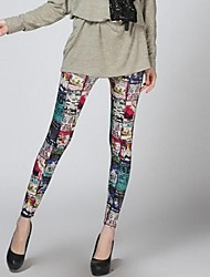 cheap -Women's Fashion Personality Plutus Cat Printed Leggings