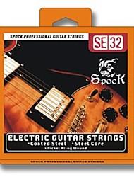 Недорогие -SE32 никелирование для электрогитары Струны